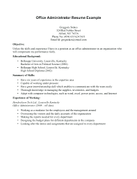 resume example for high school graduate resume sample resume for high school graduate with no work
