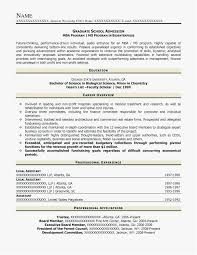 Graduate School Resume Sample Interesting Resume For Grad School Free Download Graduate School Resume Format