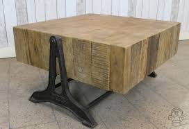 retro industrial style coffee table