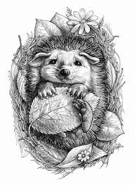Animal Coloring Pages For Adults To Print Img 22553 Gianfredanet