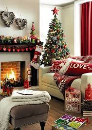 Christmas Living Room Decorating Ideas Decor