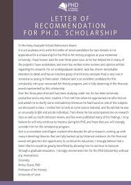 Pin By Phd Statement Of Purpose On Sample Of Recommendation