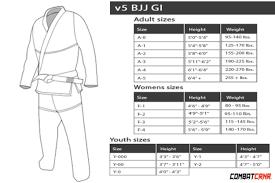 Judo Suit Size Chart Womens Black V5 Bjj Gi Free White Belt