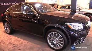 There's amg power on tap if you must. 2018 Mercedes Benz Glc Class Glc 300 4matic Exterior Interior Walkaround 2018 New York Auto Show Youtube