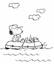 Small Picture Free Printable Snoopy Coloring Pages For Kids