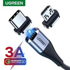 <b>UGREEN Magnetic Charge</b> Cable Fast Charging USB Type C Cable ...