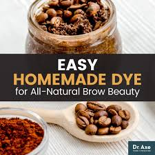 diy coffee cocoa eyebrow dye