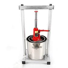 12L Fruit Press- <b>New</b> Version Larger <b>304 Stainless Steel</b> Pressing ...