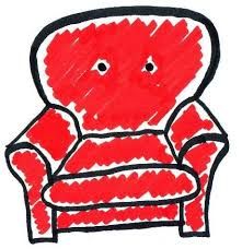 couch drawing. The Words \u201cDrawing Couch Drawing
