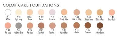 Ben Nye Color Chart Ben Nye Matte Hd Foundations Exact Ben Nye Cake Foundation
