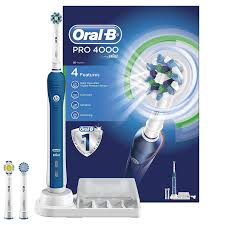 Remington Light Pro 4000 Reviews Oral B Pro 4000 Crossaction Electric Rechargeable Toothbrush