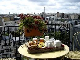 Hotel de Banville: Amelie Sweet - Fantastic balcony breakfast