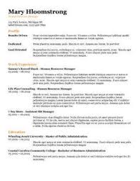 ... Template Resume 19 All The Information Resume Template ...