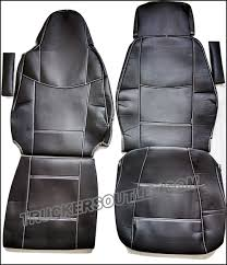scania streamline leatherette seat covers