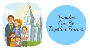 Families Can Be Together Forever Flip Chart