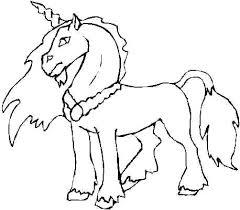 Disegni Per Bambini Da Stampare E Colorare Unicorno By Megghy Net