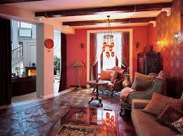 ... Outdoor home decorating in Moroccan style, colorful pillows and hanging  Moroccan lamps