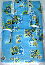 love baby bedding set blue