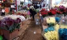 نتیجه تصویری برای بازار گل