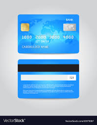 Free Credit Card Designs Credit Card Template Design Two Sides