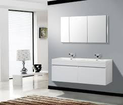 White Bathroom Vanity Cabinet Modern White Bathroom Vanities Actionitembandcom Contemporary
