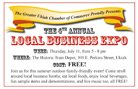 4th annual local business expo business expo flyer halfpg