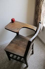 large oak antique school desk
