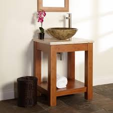 Bamboo Bathroom Sink 24 Kirin Bamboo Vessel Sink Console Vanity Bathroom