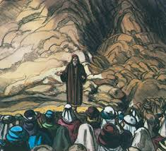 Image result for moses speaking to israel pictures