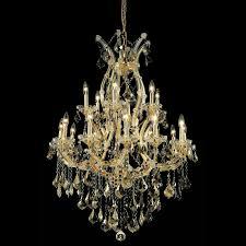 elegant 2800d32gt gt rc maria theresa golden teak finish 32 nbsp wide chandelier light loading zoom