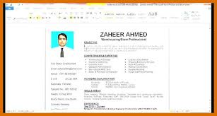 4 5 How To Make A Resume In Microsoft Word Formatmemo