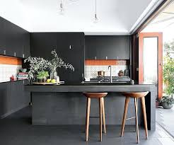 modern black kitchens. Modren Modern Modern Black Kitchen Cabinets Globalstory Co Inside Inspirations 18 To Kitchens