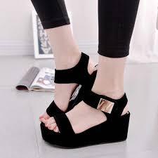 Women <b>Sandals</b> Slip On Elastic Band Peep Toe Female <b>Summer</b> ...