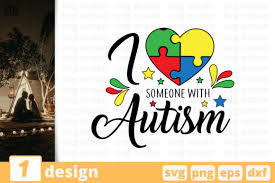 9000 open source icons with search. I Love Someone With Autism Graphic By Svgocean Creative Fabrica