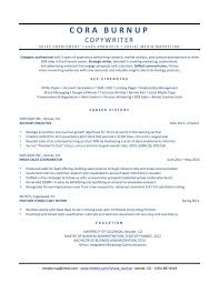 Copywriting Resume