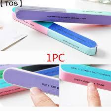【TGS】<b>1PC Six</b>-<b>sided Polishing</b> File <b>Nail</b> Tool Printing <b>Nail</b> File ...