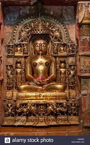 Golden Jain God in Chandraprabhu Jain ...