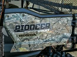 2018 honda side by side. contemporary side 2017 honda pioneer 10005 deluxe camo review  specs  side by atv intended 2018 honda side