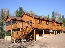 Mobile Home Log Cabins Log Cabin Mobile Homes Design Oregon Idolza