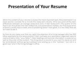 Make Your Resume So Impressive So That You Can Stand Out From The ...