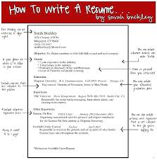 Write A Resume Best How To Write Resume Summary Statement