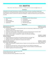 best administrative assistant resume example   livecareeradministrative assistant resume example