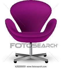 office chair icon. Clipart - Semi-realistic Vector Office Chair Icon. Fotosearch Search Clip Art, Icon