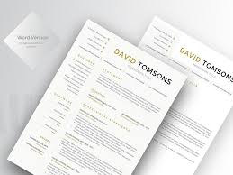 free word cv template with matching cover letter word word resume minimal free resume template free