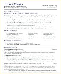 Objective For Teaching Resume This Is Substitute Teaching Resume Substitute Teacher Substitute 84