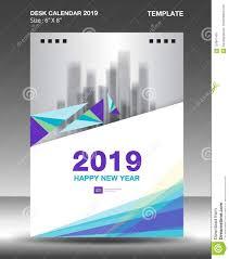 The Flyer Ads Cover Desk Calendar 2019 Design Template Flyer Template Ads