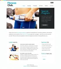 Fitness Template Free Physical Fitness Powerpoint Templates Free