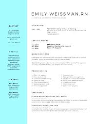 New Graduate Nurse Resume Template New Grad Registered Nurse Resume ...