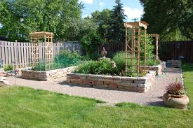 Small Picture How to make your own raised garden bed large and beautiful
