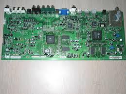 vizio tv repair. picture of repair service for vizio vx37lhdtv10a main board 3637-0012-0150 - shutting tv